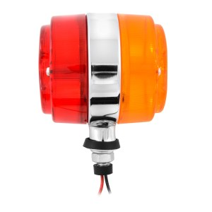 Double Face Auxiliary Projected Pedestal Marker Light