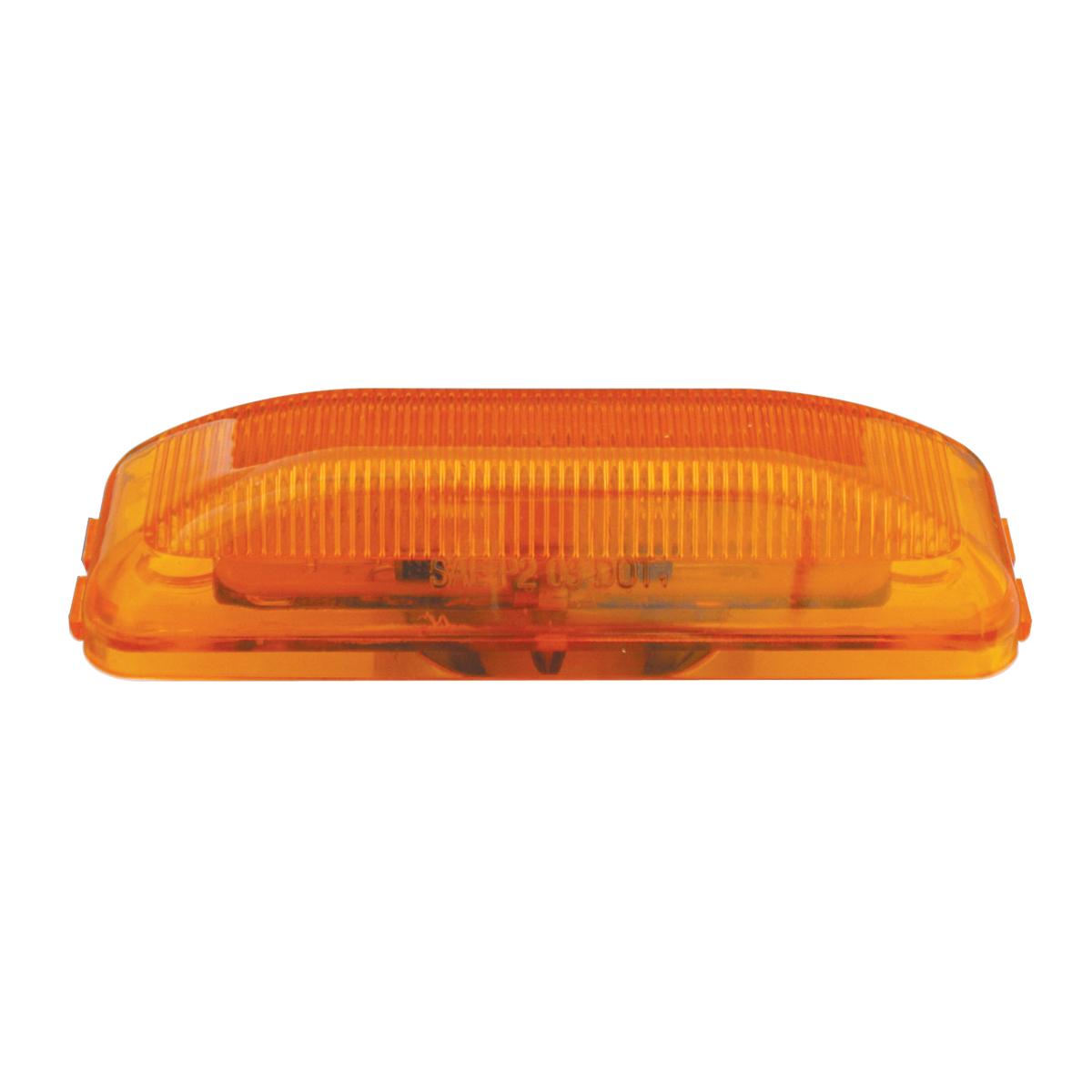 84440 Medium Rectangular LED Marker Light in Amber/Amber