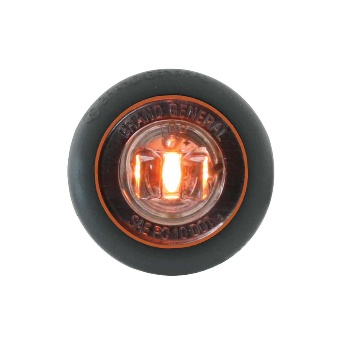 """75201 1-1/4"""" Dia. Dual Function LED Light with Grommet"""
