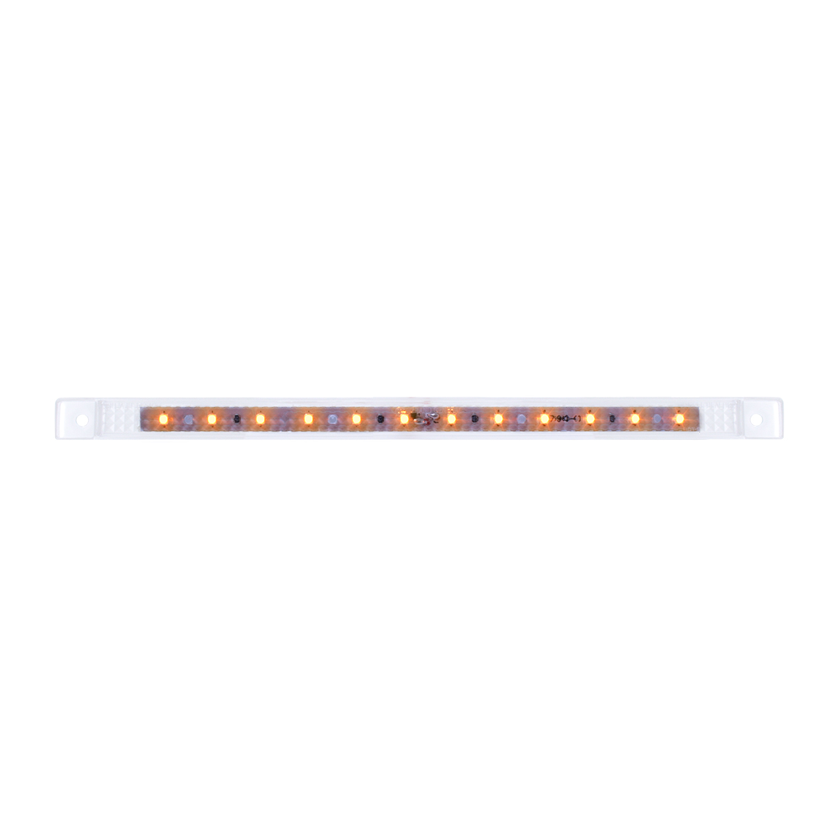 "75961 10-1/8"" Ultra Thin LED Marker Light in Clear Lens"