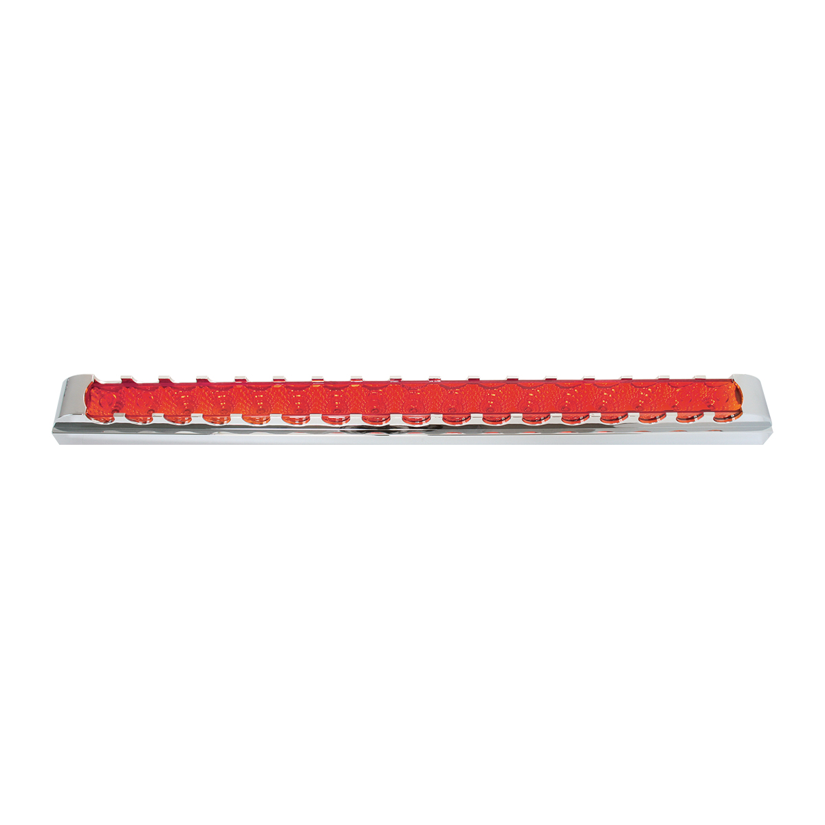 "76302 20"" Spyder LED Light Bar w/ Chrome Plastic Bezel"