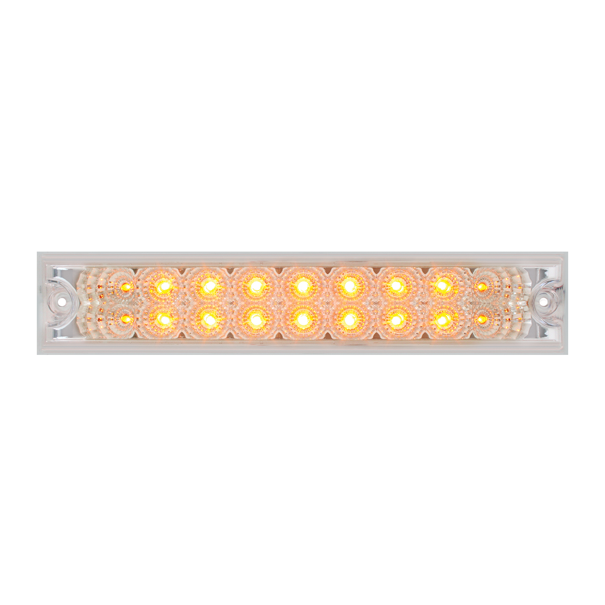 "76481 10"" Spyder LED Light Bar in Clear Lens"