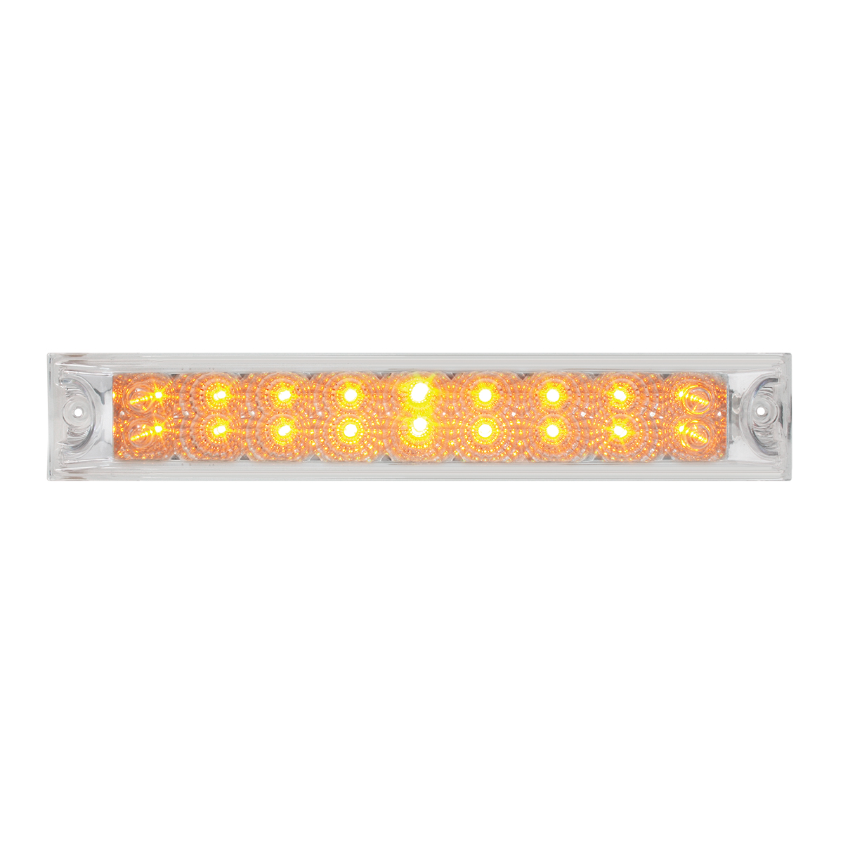 "76986 12"" Spyder LED Light Bar in Clear Lens"