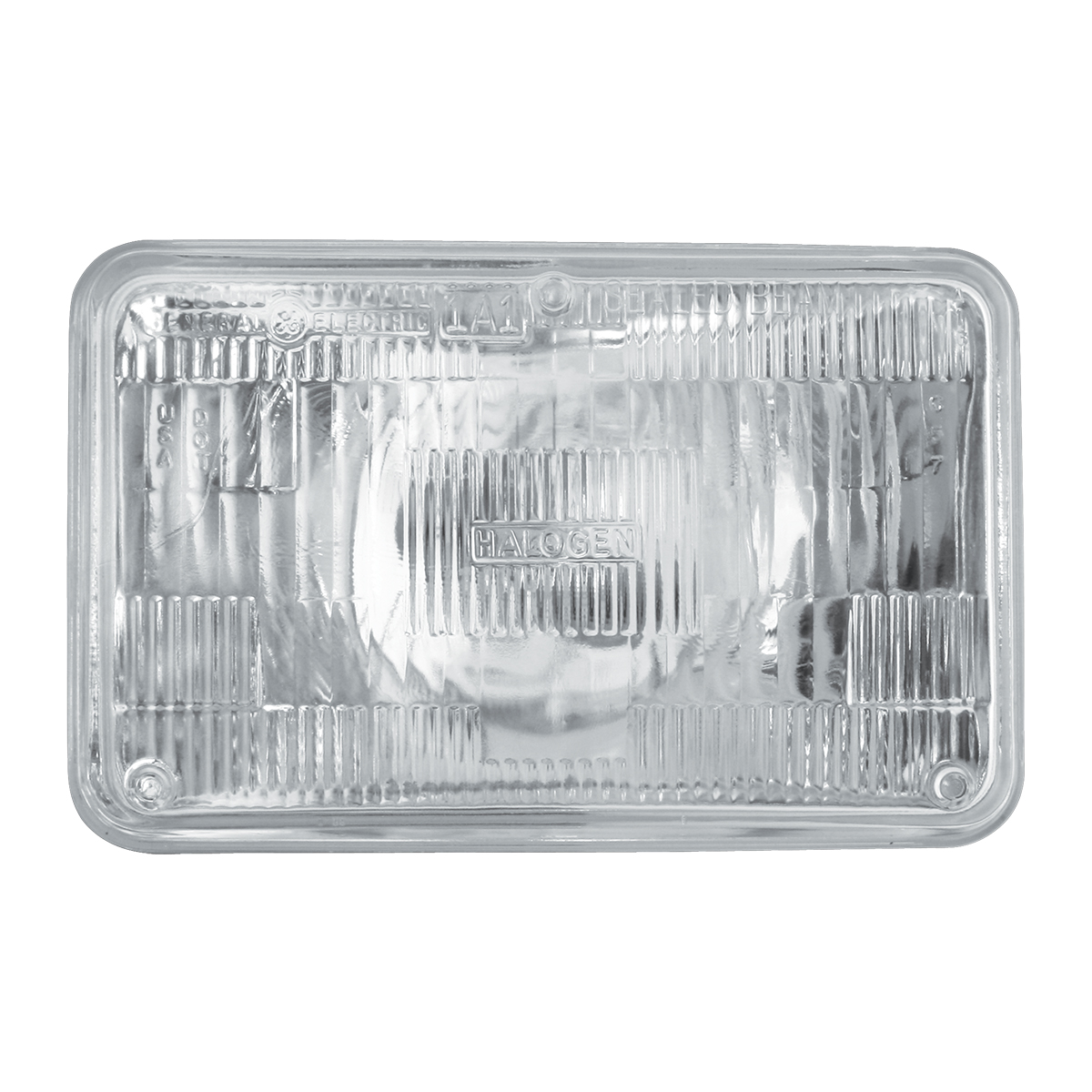 #80428 Rectangular Sealed Beam #H4651 Headlight - Clear
