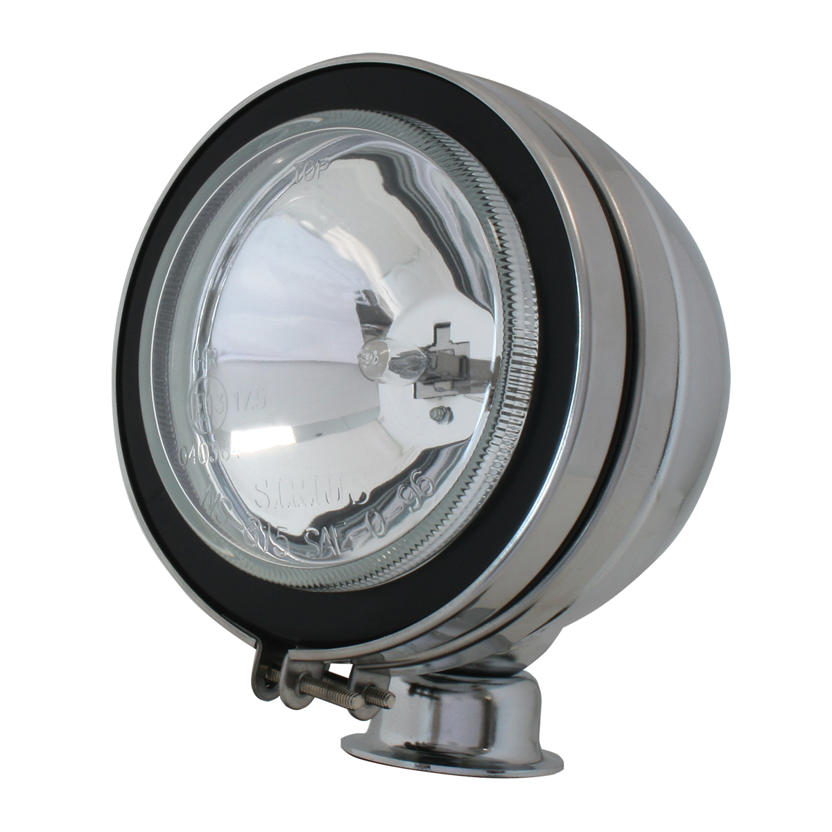 "#80632 5"" Chrome Plated Off-Road Light 100 watts - Clear"