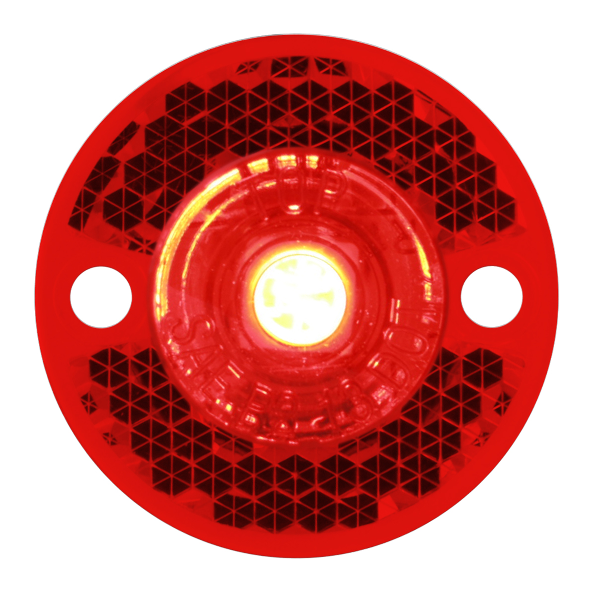 81782 Mini Surface Mount LED Light in Red/Red
