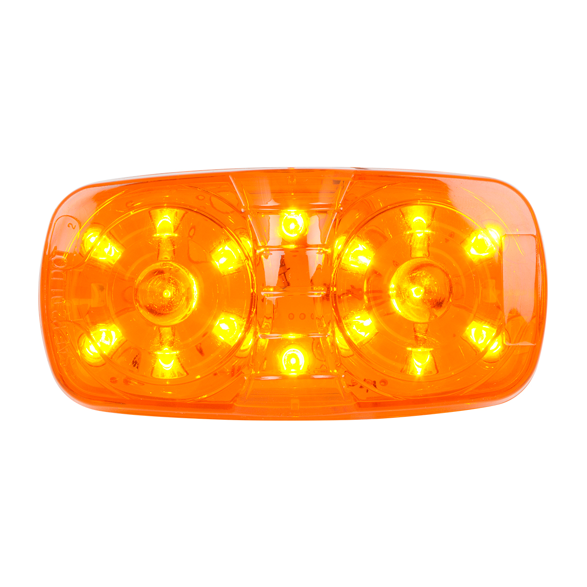 85240 Tiger Eye LED Marker Light in Amber/Amber