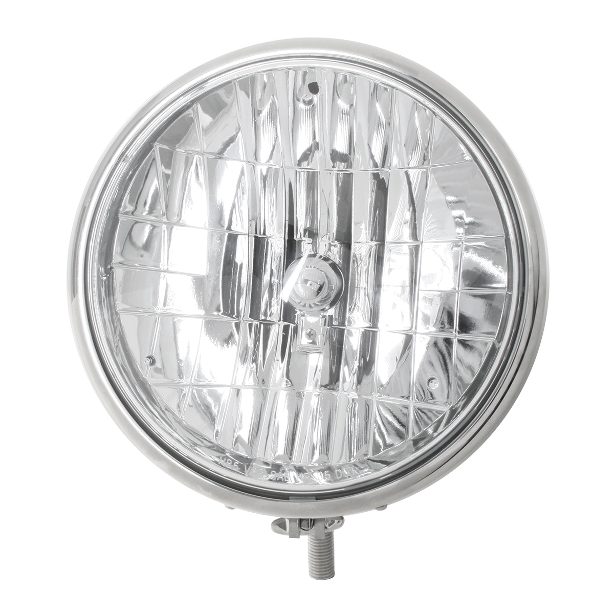 "#87730 Stainless Steel 9 ½"" Headlight"