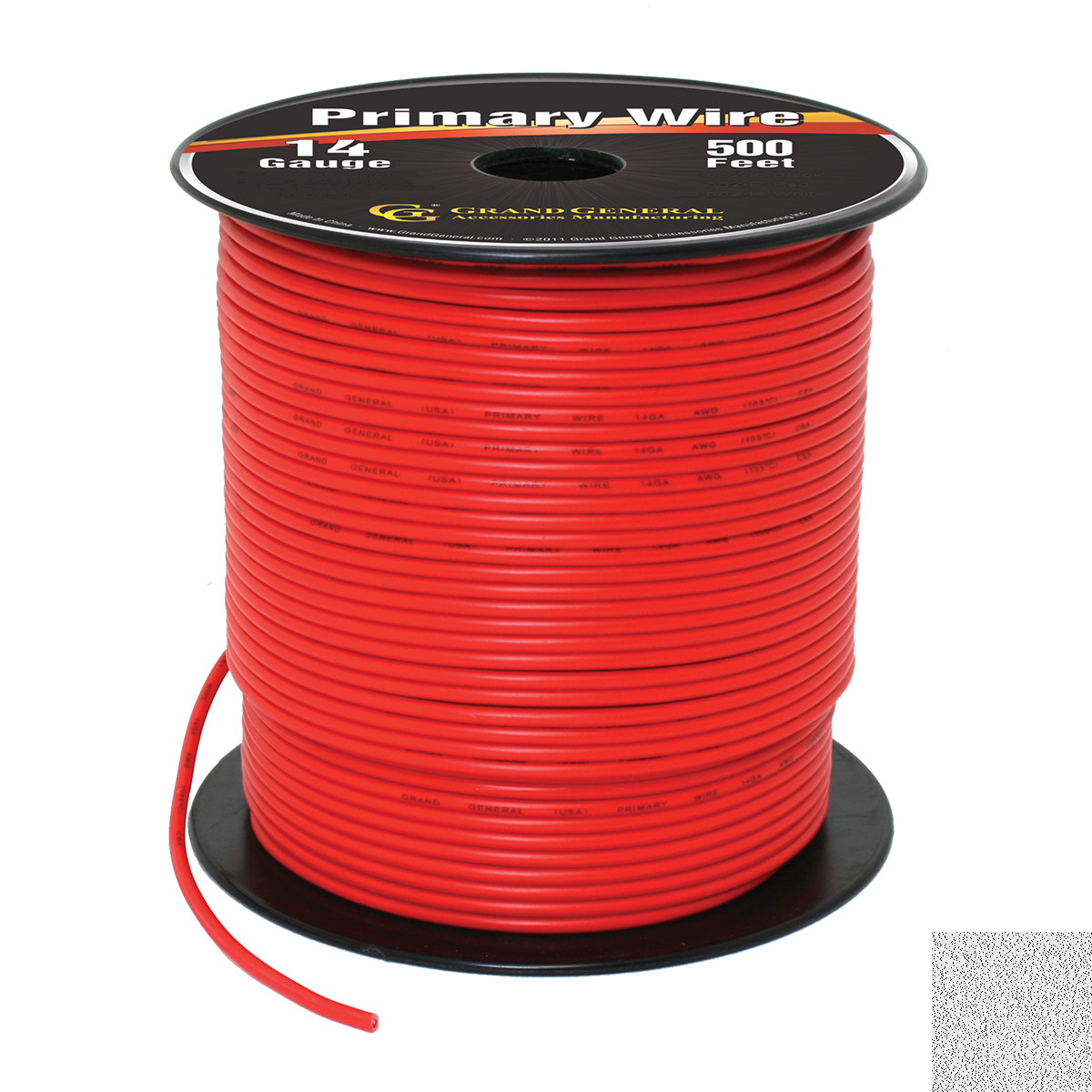 Primary Wires in 14 Gauge - Grand General - Auto Parts Accessories ...