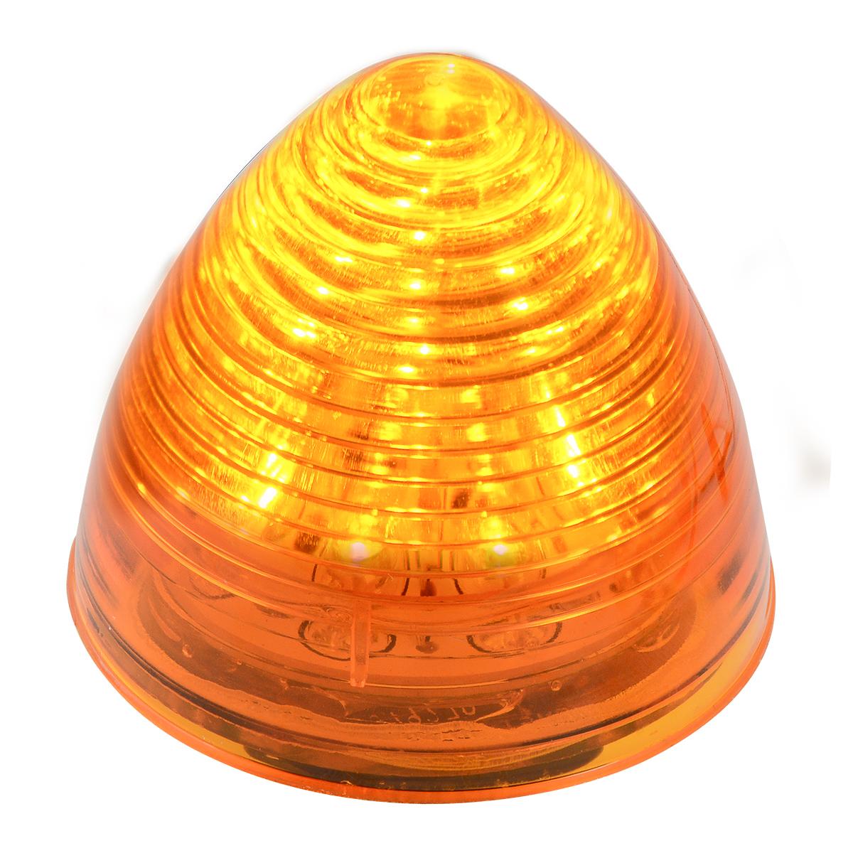 "#79300 2 ½"" LED Beehive Amber/Amber Light"