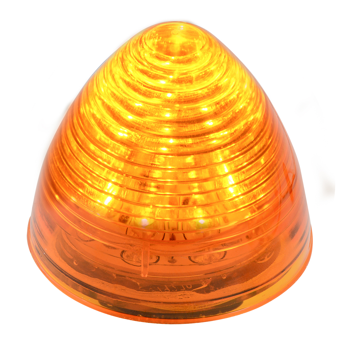 "#79300 2 ½"" LED Beehive Amber/Amber Light"