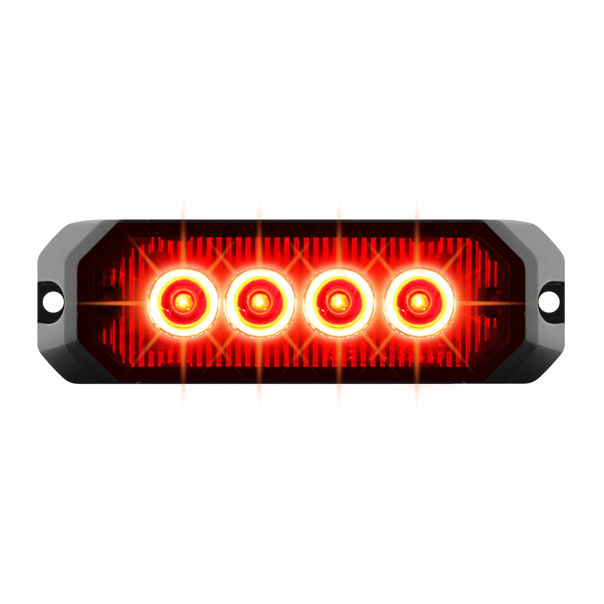 "81802 4"" Medium Rectangular High Power LED Strobe Light"