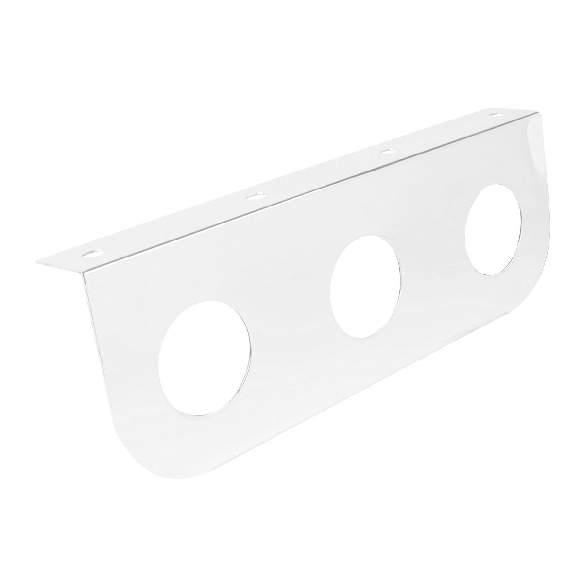 #86579 Chrome Plated Steel Light Bracket Only