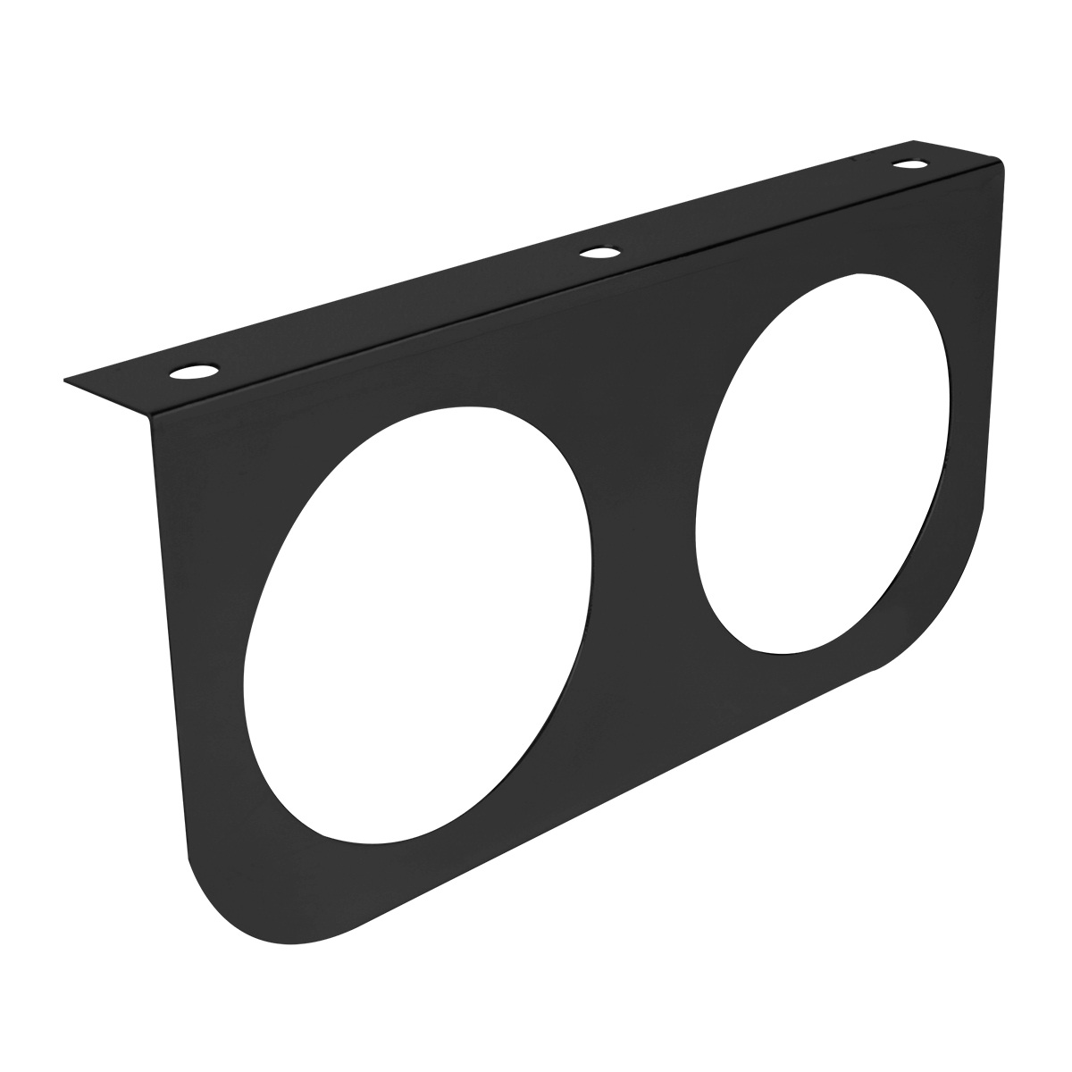 #89219 Black Painted Steel Light Mounting Bracket Only