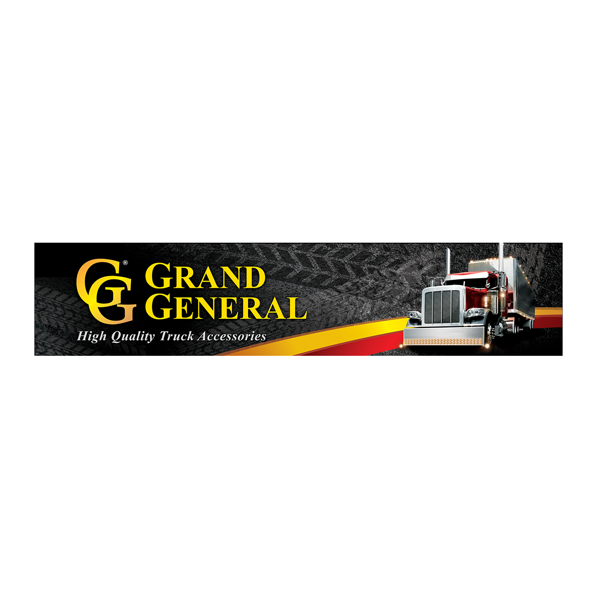 Grand General Banner 5' (W) x 1' (H)