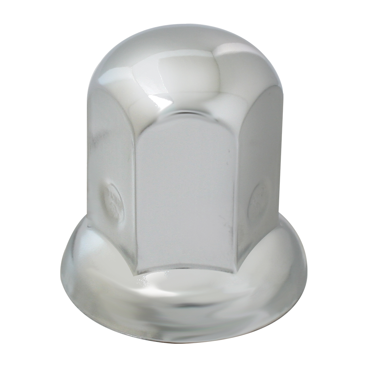 10411 Chrome Steel Standard Push-On Lug Nut Cover w/ Flange for GMC Top Kick Medium Duty Truck