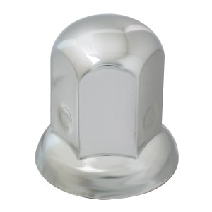 Standard Chrome Steel Push-On Lug Nut Cover for GMC Top Kick Medium Duty Truck