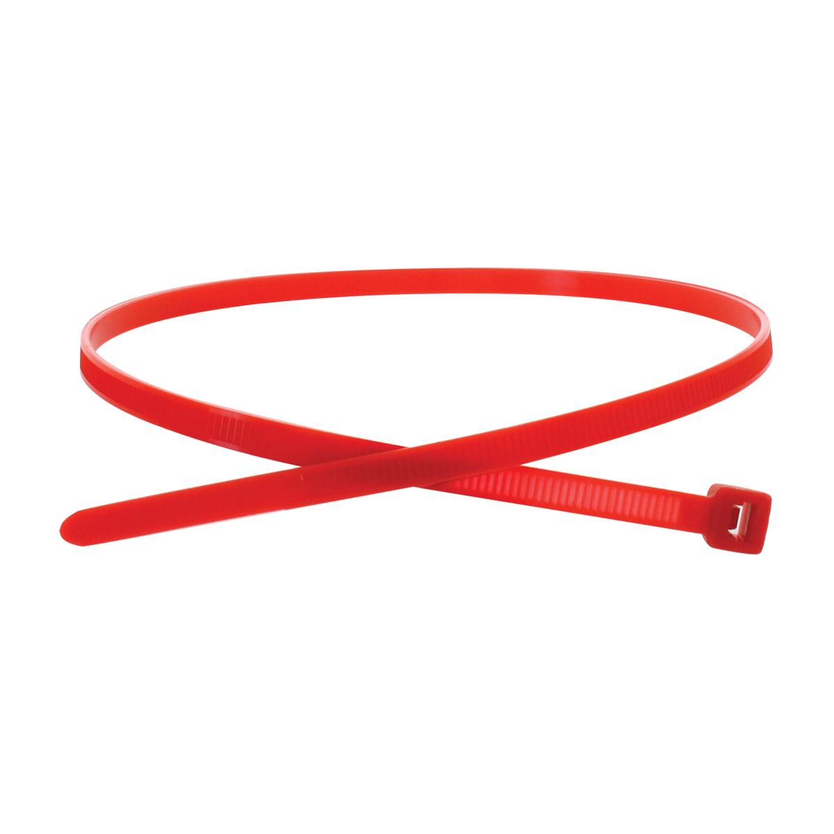 """63034 Red 15"""" (L) Nylon Cable Zip Tie"""