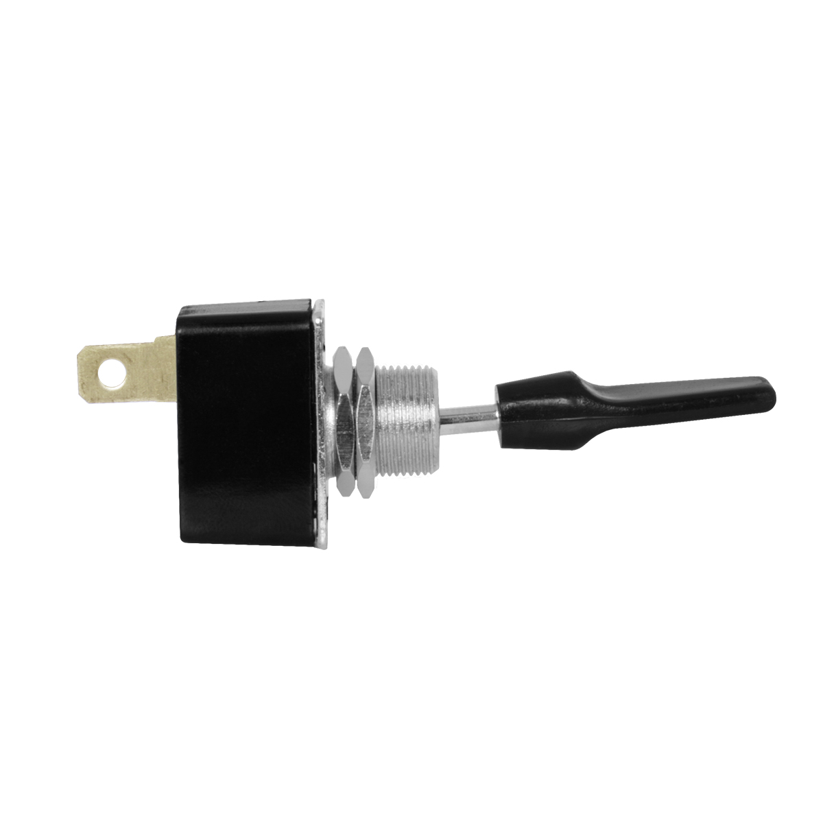 67981 Metal Toggle Switch with Black Plastic Cover