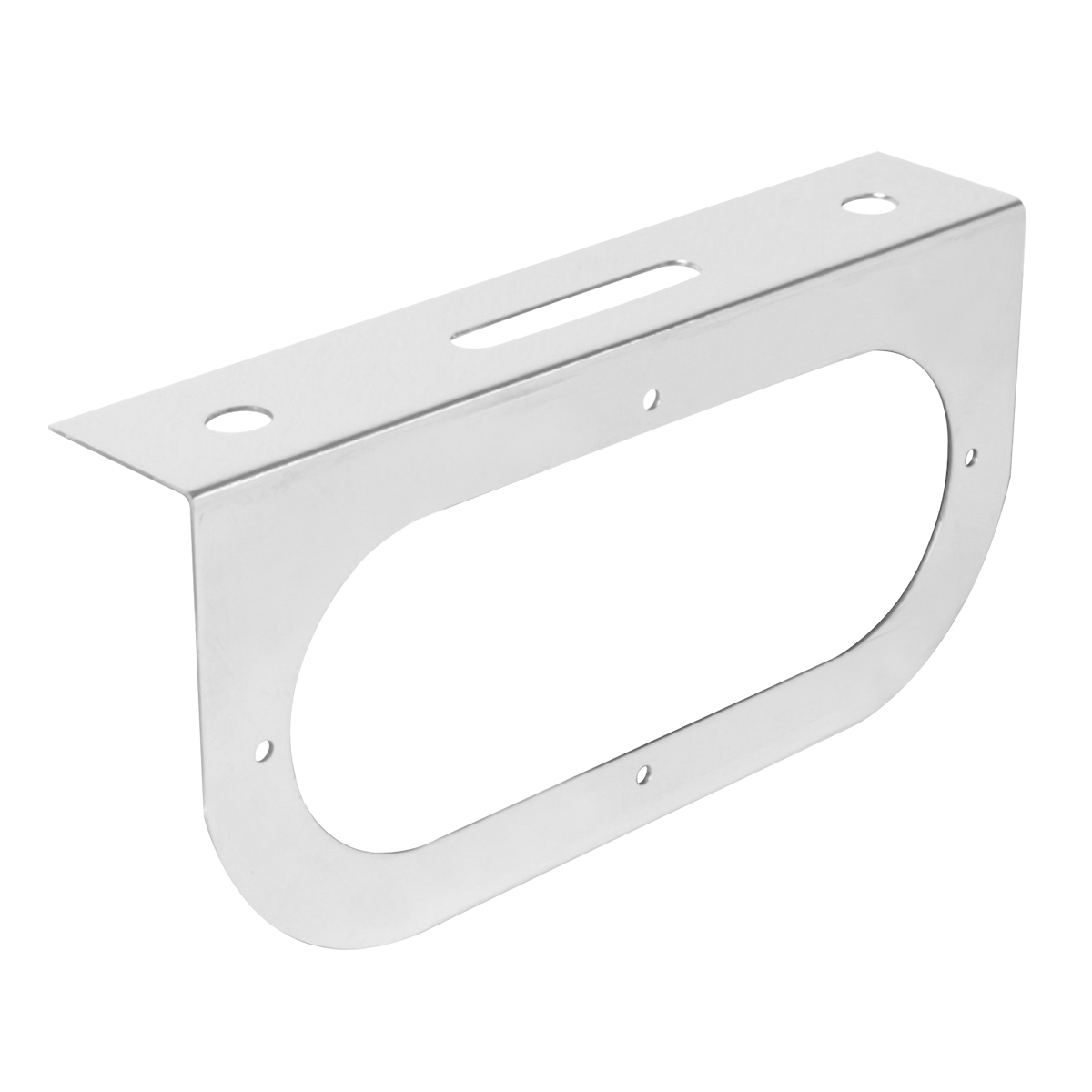 "#81381 Chrome Plated Steel Single Light ""L"" Shape Mounting Bracket Only"