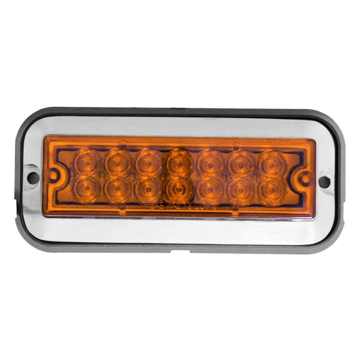 81820 Medium Rectangular 14 LED Strobe Light