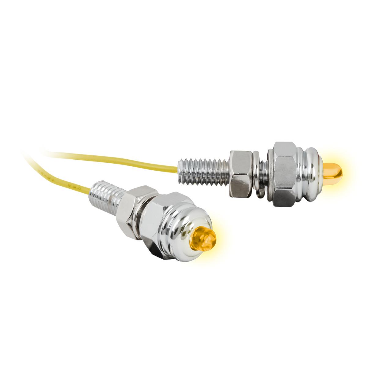 50890 Amber Screw LED Light