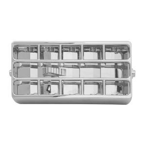 Chrome Plastic A/C Vent Adjustable Louver for Peterbilt