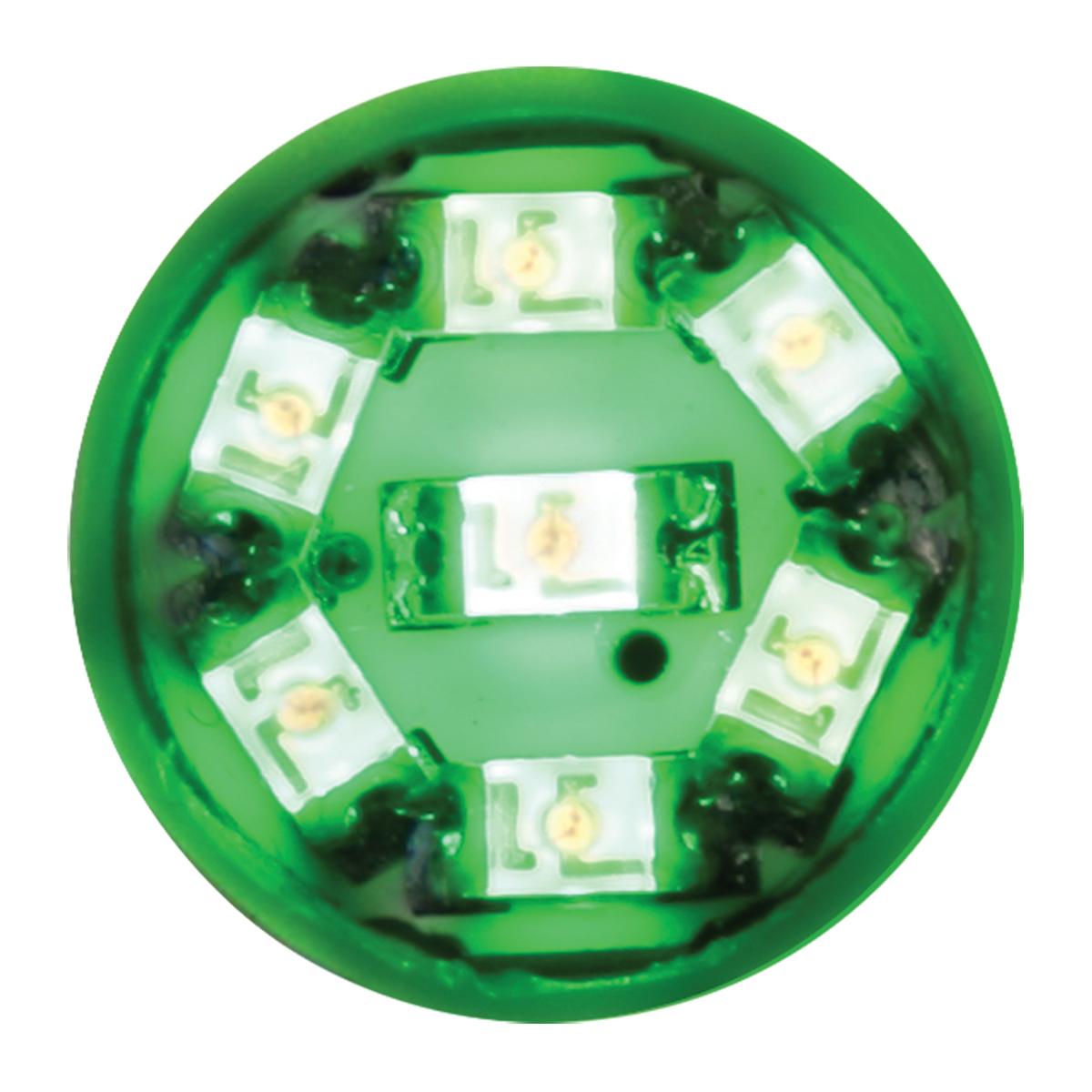 74902 Green 194/168 Dome Type 7 LED Light Bulb