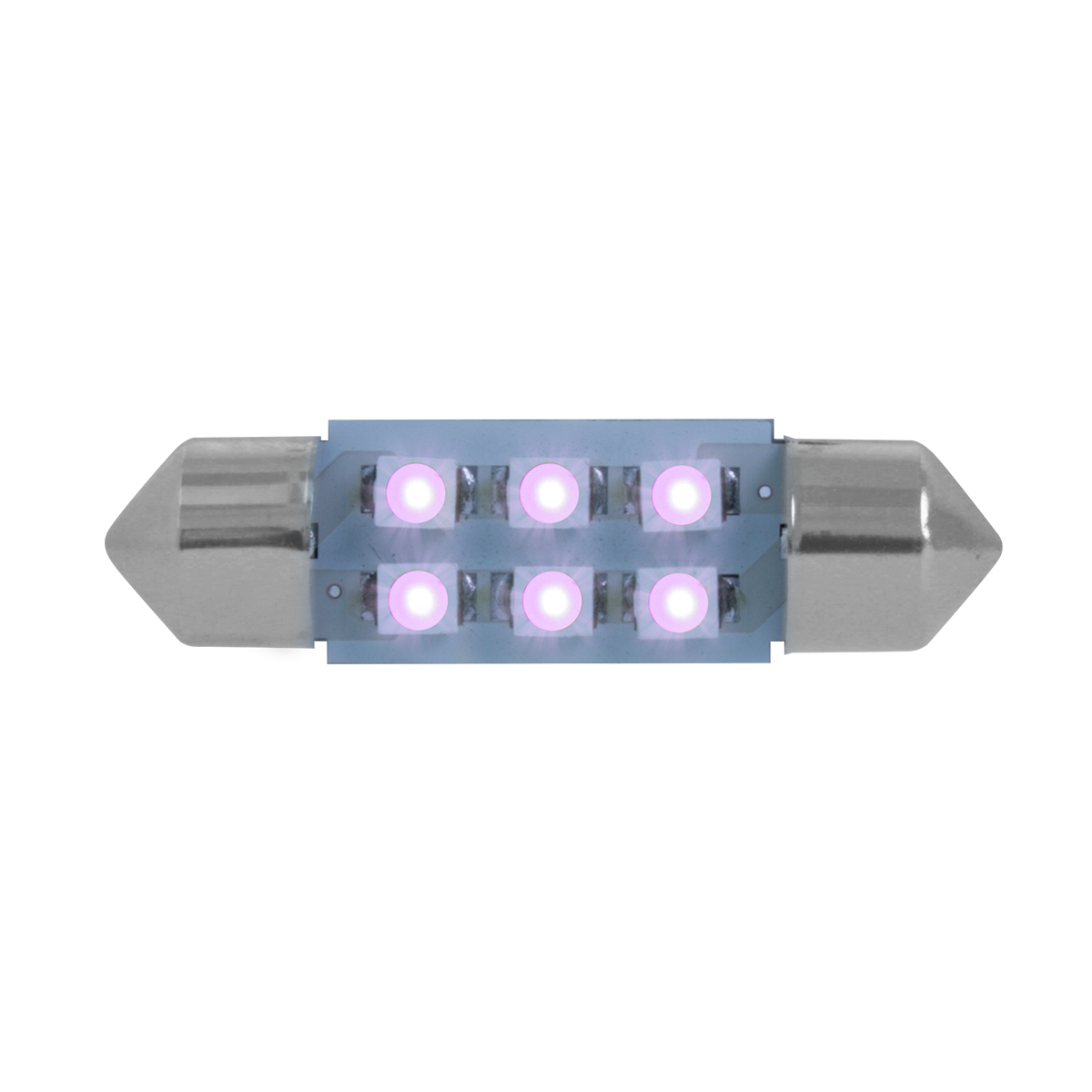 75005 Purple 211-2 Dome Type 6 LED Light Bulb