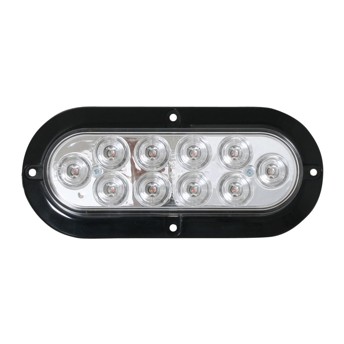 76871 Surface Mount Oval Mega 10 Plus LED Light