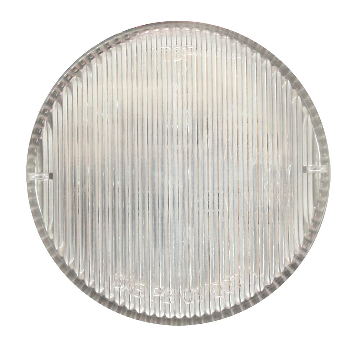 "2-1/2"" Round Fleet Marker Light in Clear Lens"