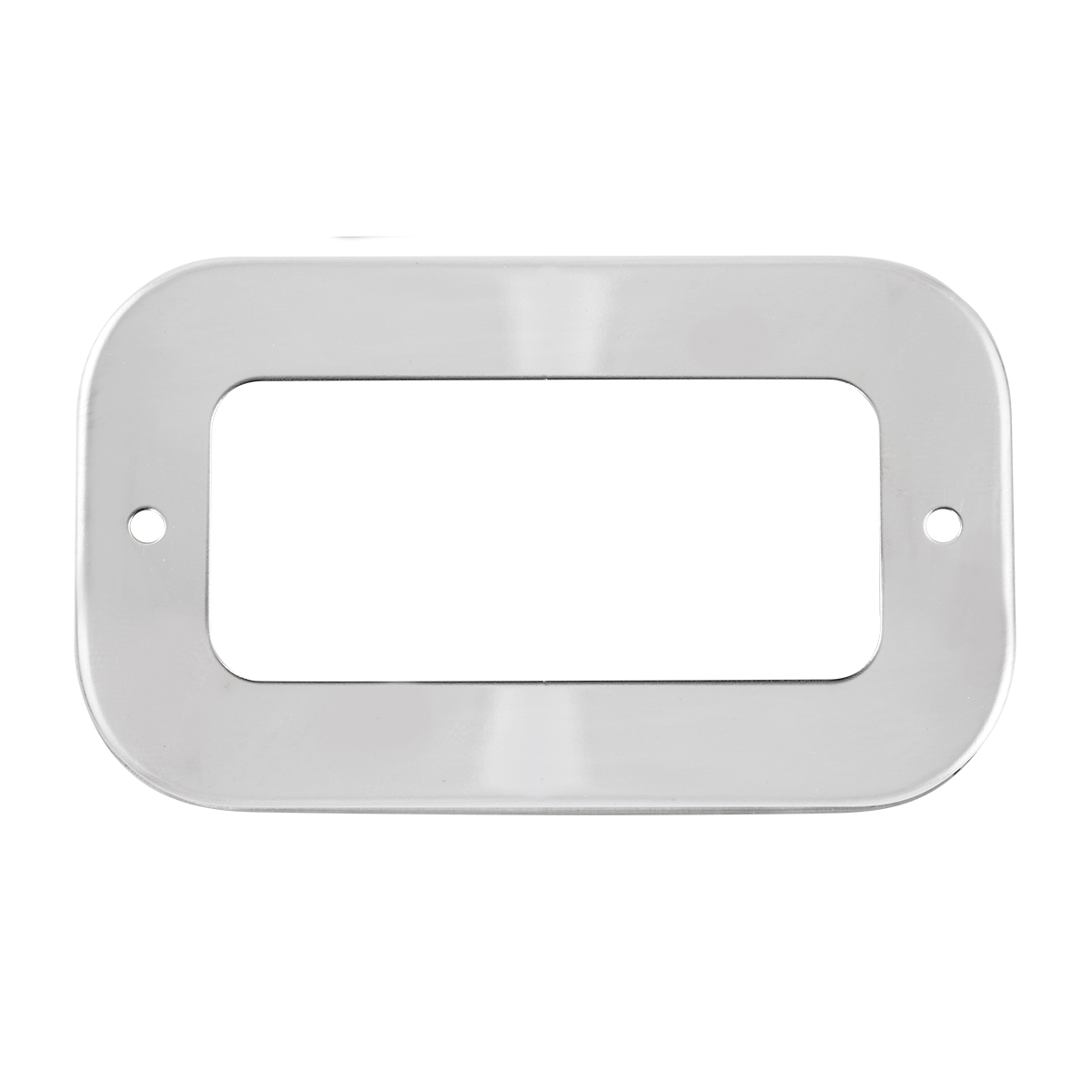 80957 Stainless Steel Grommet Covers for Small Rectangular Lights