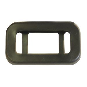 Grommet for Small Rectangular Light in 2 Bar Style