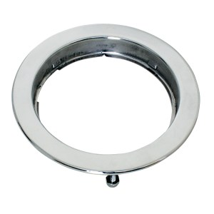 Stainless Steel Flange Mount Bezel with Hidden Studs for 4″ Round Light