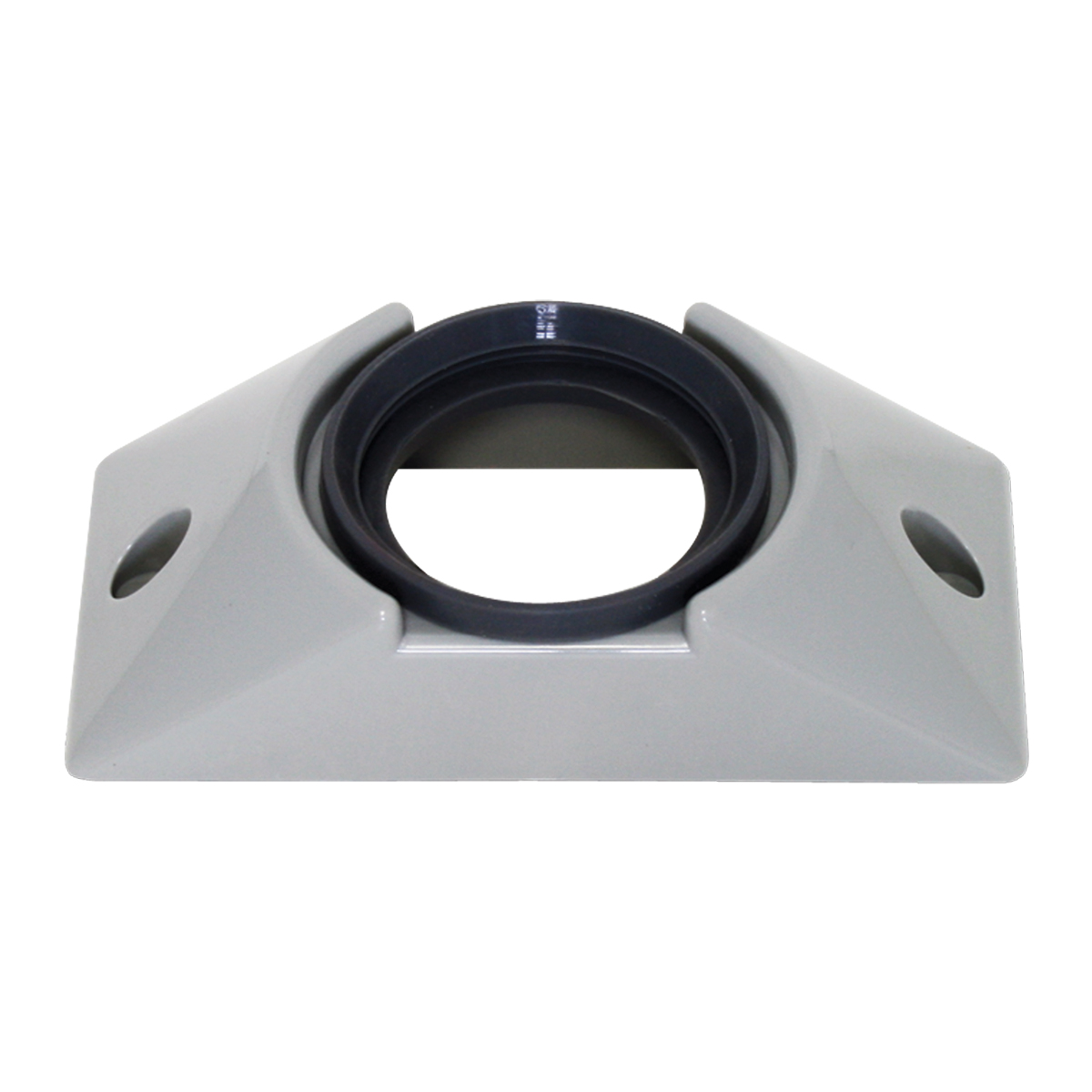 "82617 Gray Plastic Mounting Bracket with Grommet for 2"" Round Light"