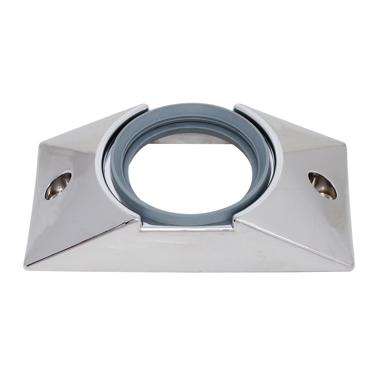 "82629 Chrome Plastic Mounting Bracket with Grommet for 2-1/2"" Round Light"