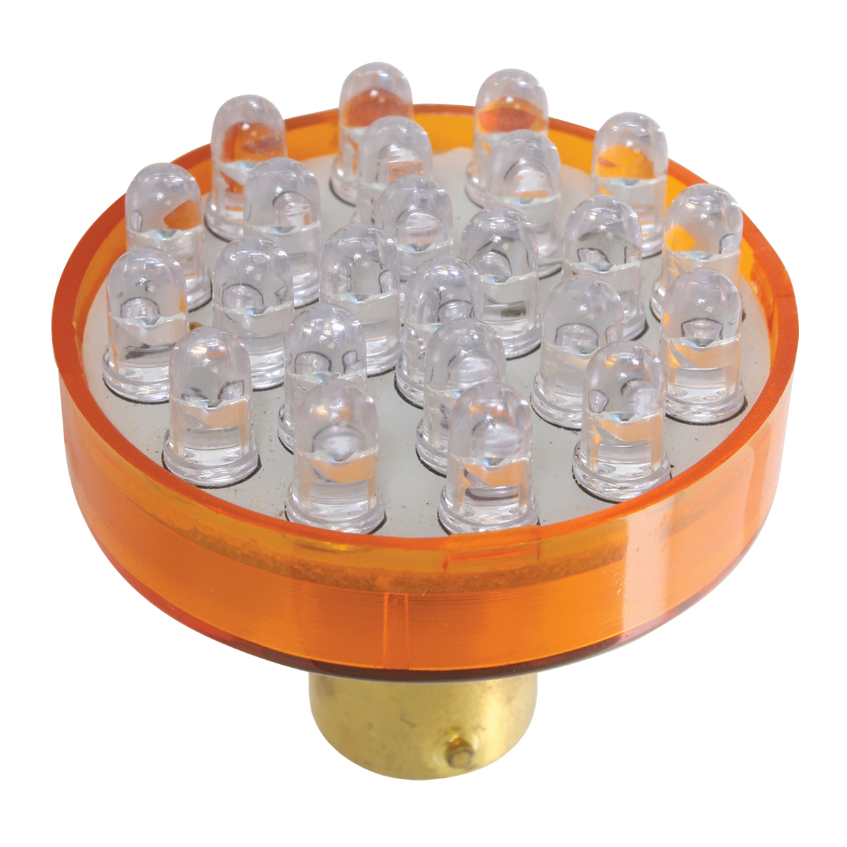 83920 Amber 1156 Single Directional 24 LED Light Bulb