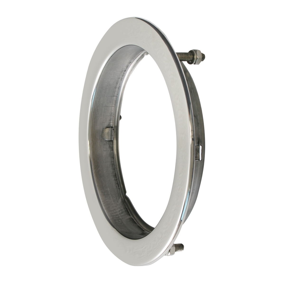 "Flange Mount Bezel with Hidden Studs for 4"" Round Light"