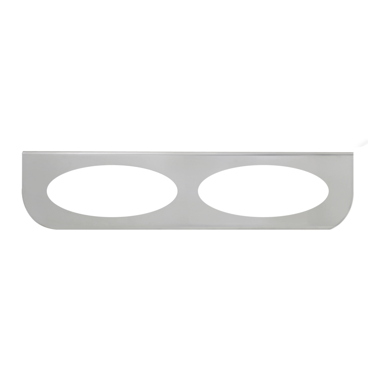 """#89049 Double Stainless Steel """"L"""" Shape Light Bracket Only"""