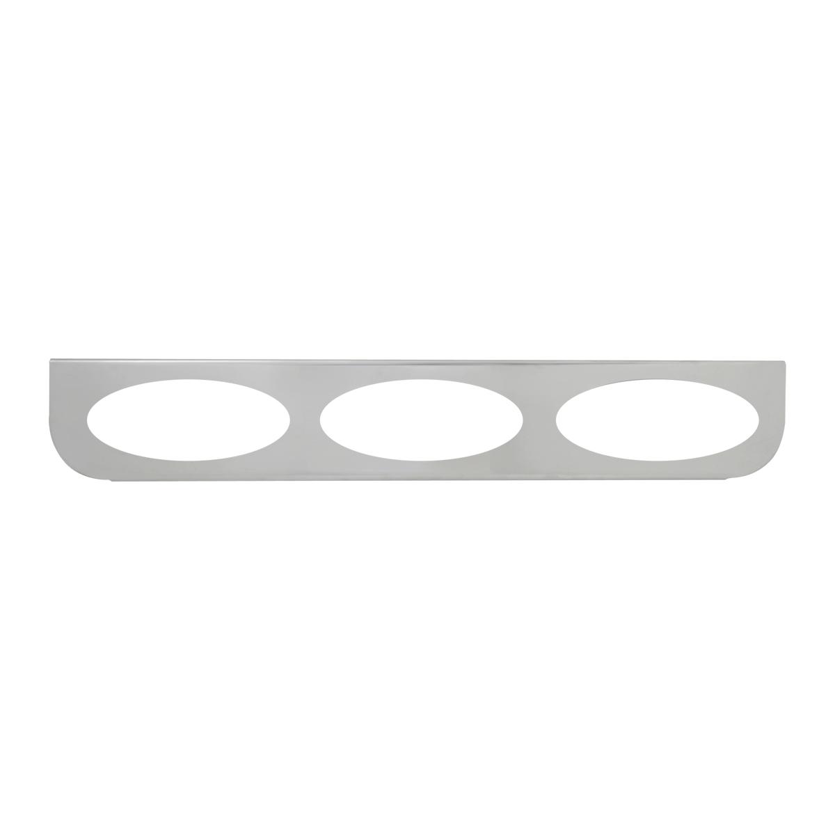"#89069 Triple Stainless Steel ""L"" Shape Light Bracket Only"