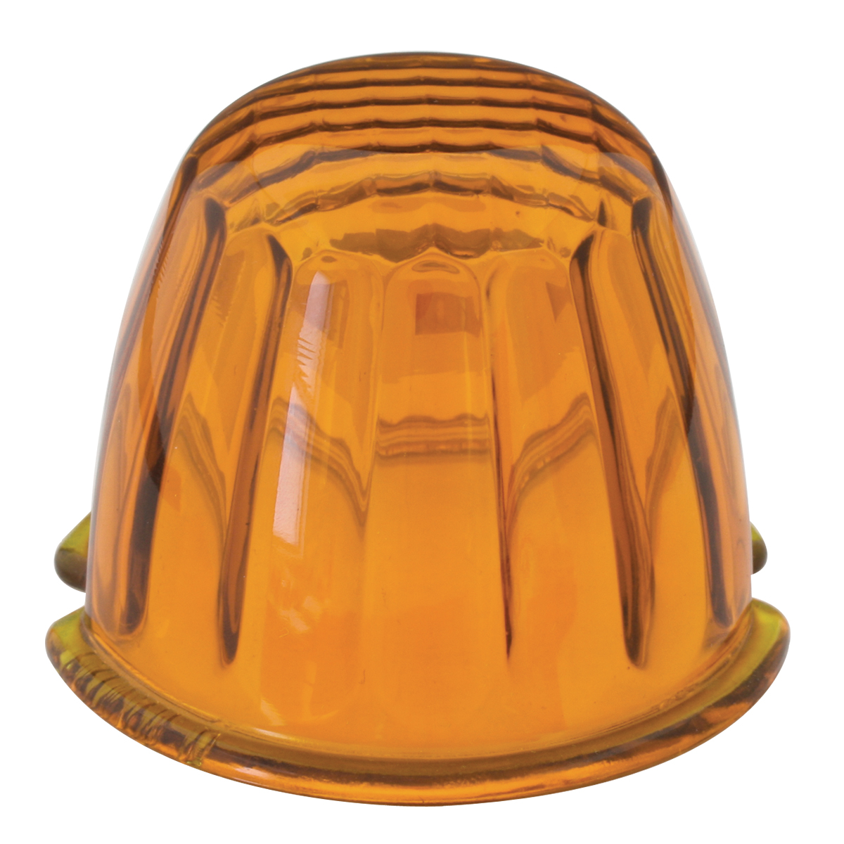 #92000 Reflector Light Amber Glass Lens