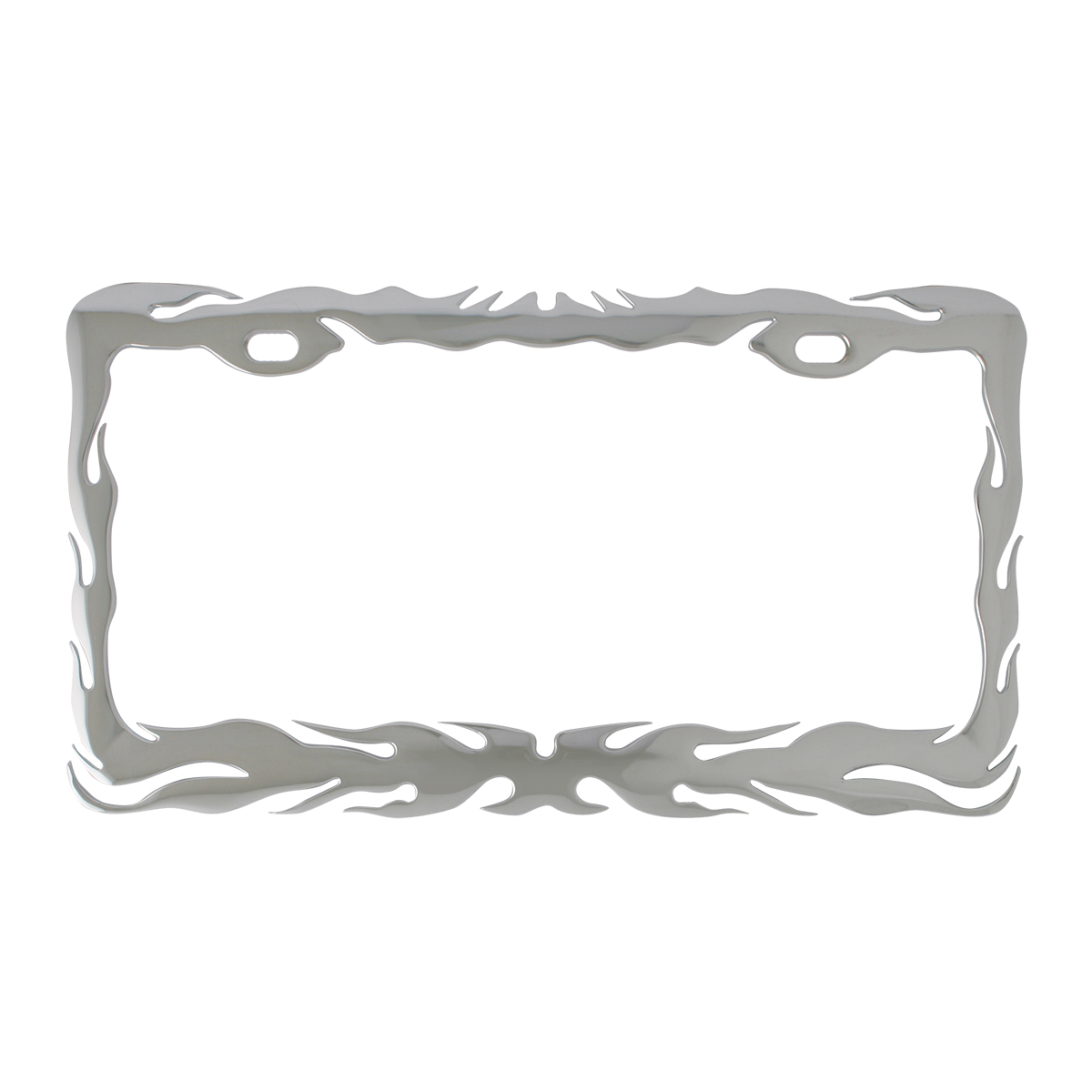 60462 Flame License Plate Frame