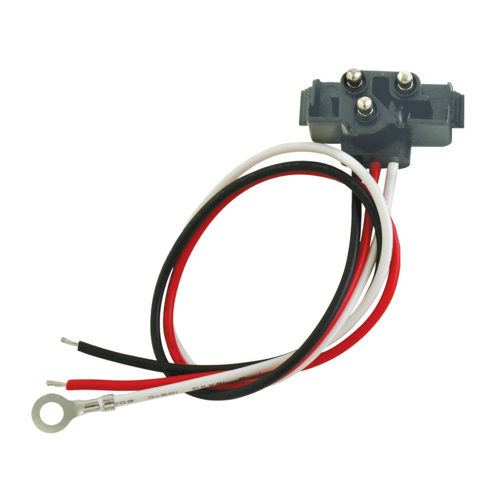 kenworth pigtail wiring diagram grundfos aquastat right angle 3 prong light plug with 11 quot lead wire grand