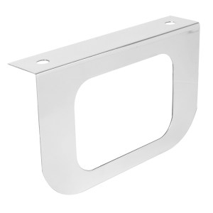 "Single Light ""L"" Shape Mounting Bracket with Rectangular Sealed Light"