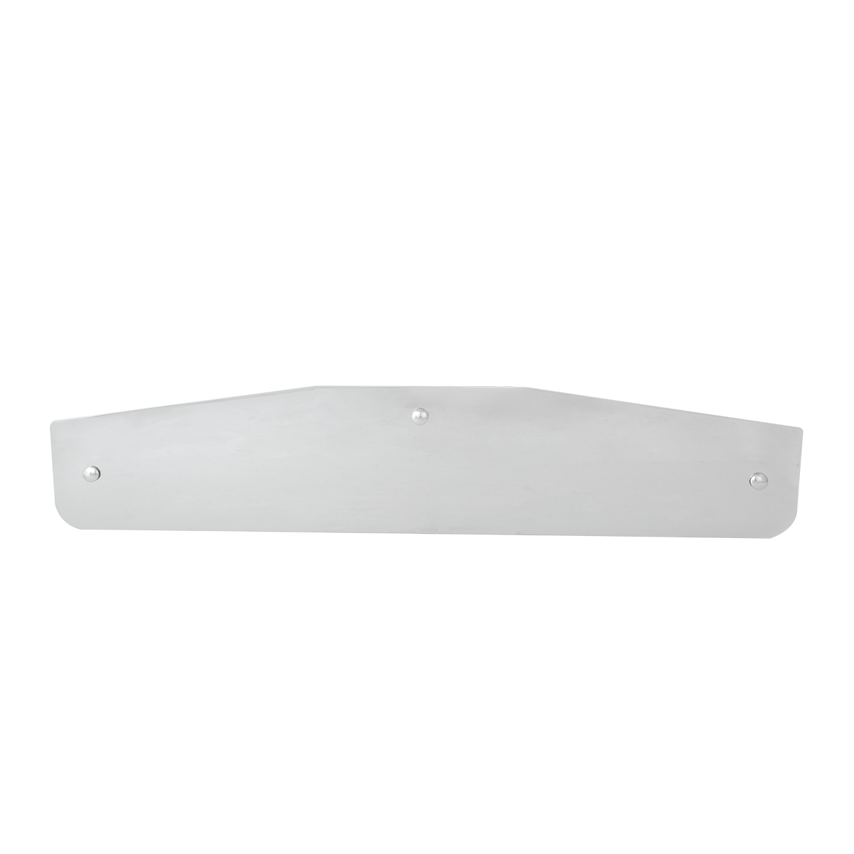"30288 Extra 5"" Tall Bottom Mud Flap Plate with 3 Holes"