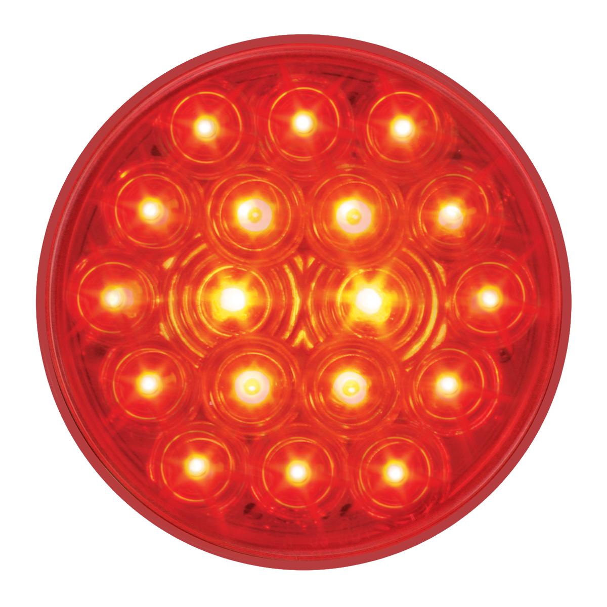 """76015 4"""" Fleet LED Light with 3-Prong Round Plug"""