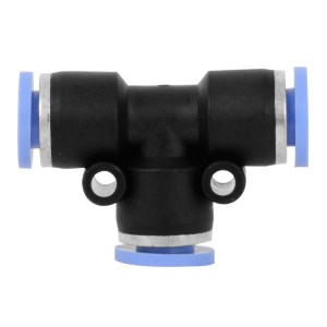 T Quick Air Push & Lock Connect Fitting