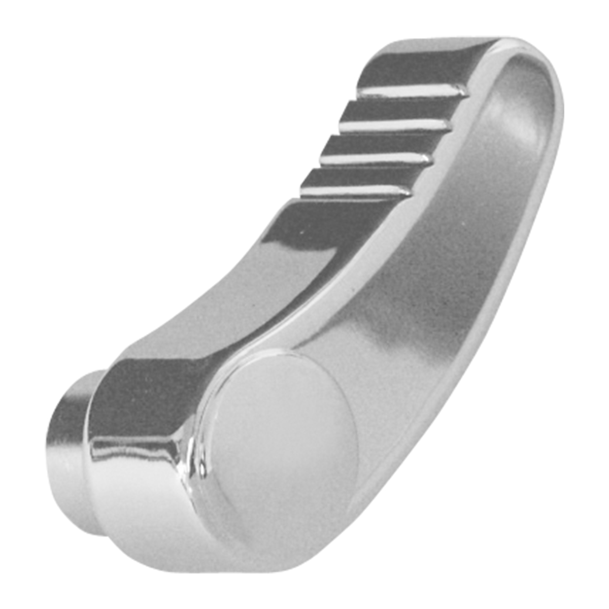55100 Chrome Die Cast Seat Lever for Peterbilt