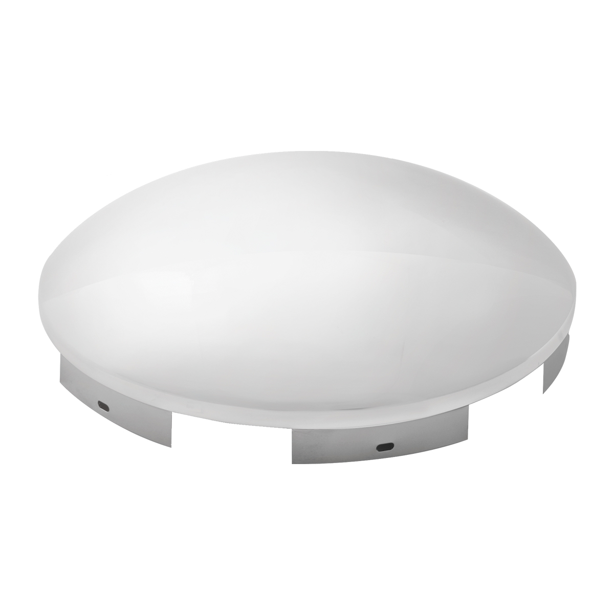 6 Notches GG Grand General 10775 Stainless Steel Universal Front Hubdometer Cap 1 Inches Lip