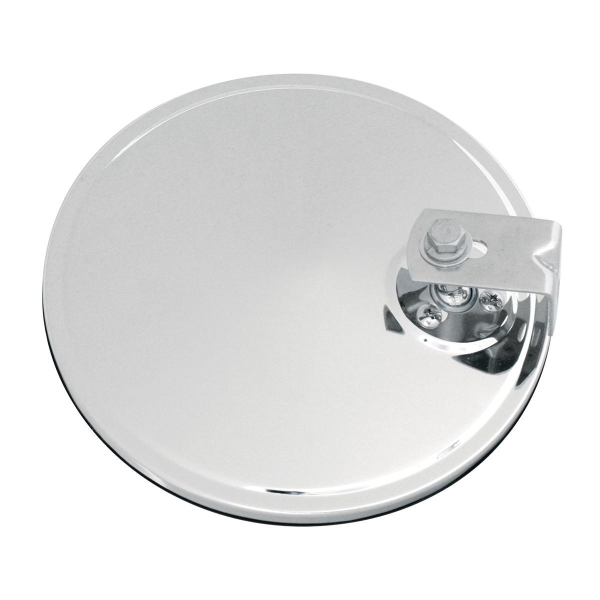 """Convex Spot Mirror 8/"""" Offset Mount Chrome Peterbilt Freightliner Kenworth"""